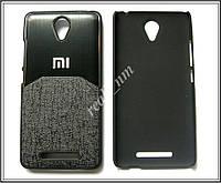 Черный чехол-накладка, бампер для Xiaomi Redmi Note 2