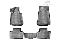 Норпласт Коврики в салон для Mercedes-Benz GLC (X253) 3D (2015) полиуретан