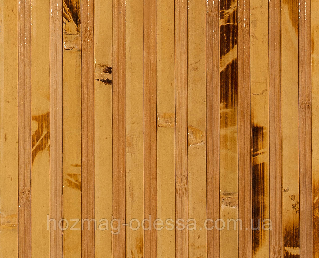 Бамбуковые обои  черепаховые темные с пропилом 12/8 , ширина 150 см.