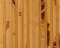 Бамбуковые обои  черепаховые темные с пропилом 12/8 , ширина 150 см., фото 1