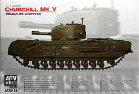 Churchill Mk.V 95mm/L23 Howitzer 1/35 AFV 35155