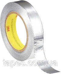Лента 3М 431 на основе алюминиевой фольги, (25мм х 55м х 0,09мм)