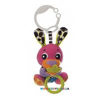 Игрушка-подвеска вибрирующая Peek-A-Boo Кролик Playgro 0185472