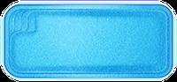 Композитные бассейны Виктория Размеры бассейна: 7,25x3,30x1,20-1,70м