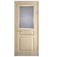 Двери Омис Барселона СС+КР ПВХ дуб беленый