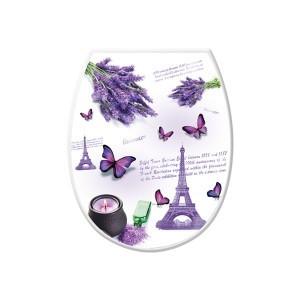 "Крышка на унитаз с рисунком ""Париж"""