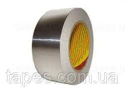 Клейкая лента 3M 1436 на основе алюминиевой фольги (50мм х 50м х 0,075мм), с синтетическим каучуковым клеем и