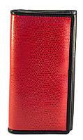 Оригинальный, прочный и недорогой женский кошелек SWAN art. 205-2 кожа красный, фото 1
