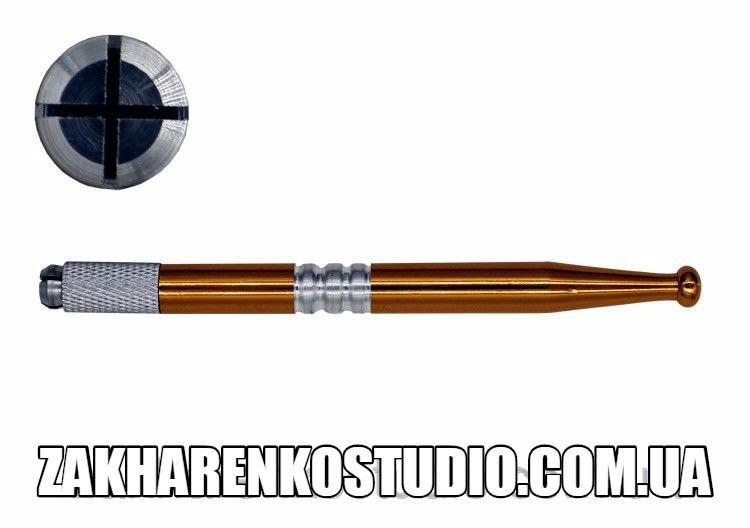 """Ручка для ручного татуажа (золотая) - Интернет-магазин """"ZakharenkoStudio"""" в Хмельницкой области"""