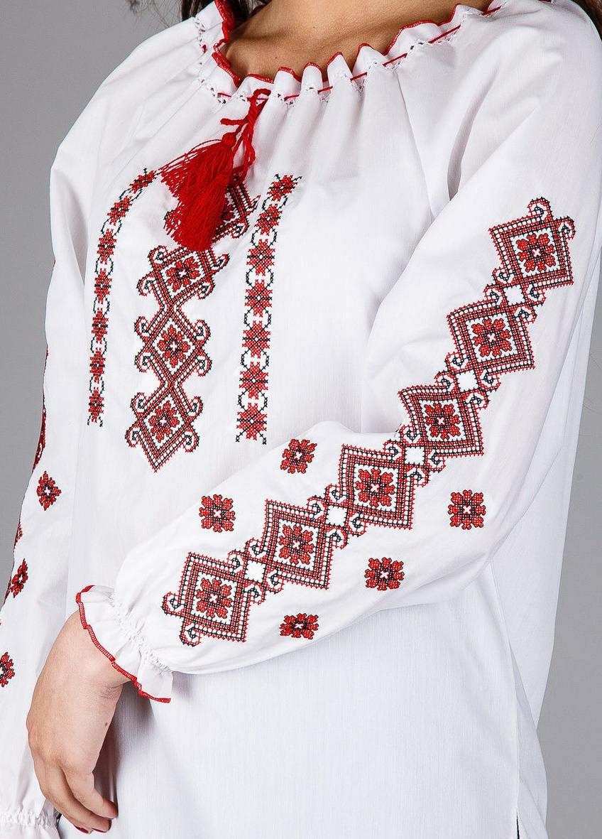Вышитая сорочка крестиком