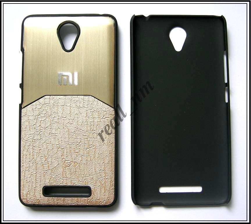 Золотой чехол-накладка, бампер для Xiaomi Redmi Note 2