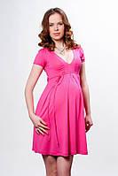 Платье для беременных бирюза-46-48