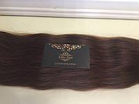 Волосы Натуральные Славянские 60 см Светлый Каштан , фото 1