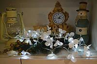 Гирлянда из 20 орхидей на батарейках, фото 1