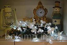 Гирлянда из 20 орхидей на батарейках