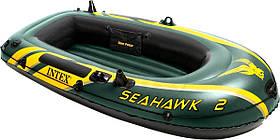 Надувная лодка Intex 68346 Seahawk 2 Set