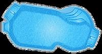 Композитные бассейны Балатон Размеры бассейна: 7.80x3.90x1.10-1.60м