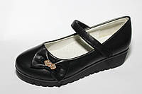 Школьная обувь оптом. Детские туфли бренда Y.TOP  для девочек (рр. с 30 по 37)