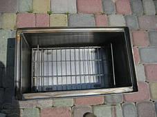 Коптильня с гидрозатвором для горячего копчения (550х320х280), фото 3