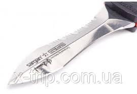 Нож для подводной охоты Sargan Сталкер Стропорез Z1 зеркальный