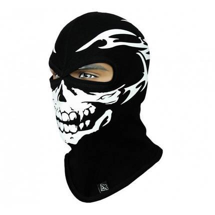 Балаклава маска с рисунком Черепа, фото 2