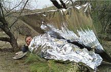 Одеяло спасательное термоодеяло, фото 3