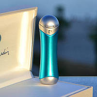 Зажигалка женская Pierre Cardin Франция бирюзовый металлик