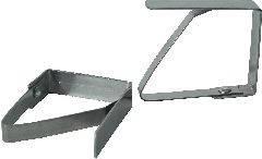 Зажим для скатерти металлический (столешница до 4см),Eternum