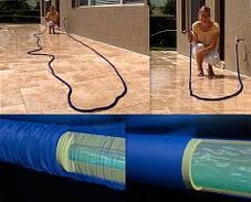 Садовый шланг для полива XHOSE 7,5м с распылителем, фото 3