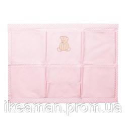 NANIG Подвесные карманы, светло-розовый - Икеамания в Киеве