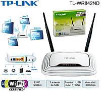 Wi-Fi роутер TP-LINK TL-WR842ND USB
