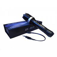 Шокер-фонарь ZZ-8810, алюминий,аккумулятор,заряд