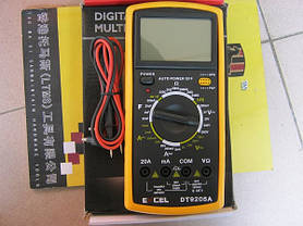 Мультиметр Универсальный DT 9205A, фото 3