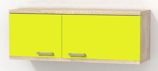 Шкаф навесной Гламур 2 (распашные дверки)