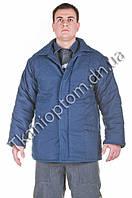 Куртка ватная Диагональ. Двойной утеплитель ватин, бязь