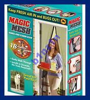 Анти москитная сетка штора на магнитах magik mash. Сетка от комаров. Купить.