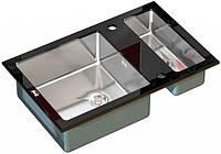 Мойка кухонная Zorg GL 8051-2 Black