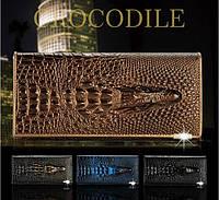 Элегантный кошелек CROCODILE