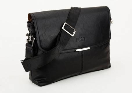 Кожаная мужская сумка POLO, фото 2
