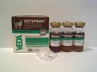 КотЭрвин 10мл №3 лечение и профилактика мочекаменной болези у кошек