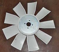 Крильчатка вентилятора ЯМЗ-236 (600мм, 9 лопастей) (ПЛАСТИК) (РТЗ)