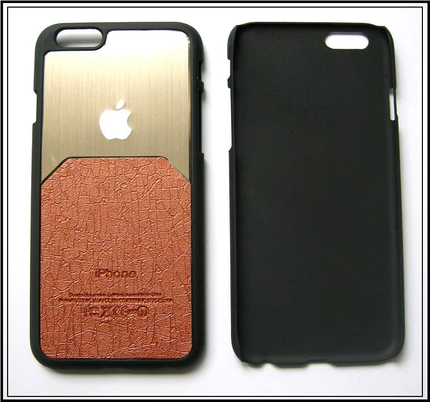 Золотистый чехол-накладка, бампер для Apple Iphone 6 6s