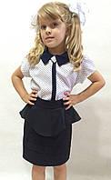 Блузка детская в школу К-18