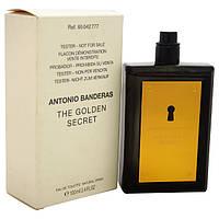 Antonio Banderas Golden Secret EDT 100 ml TESTER  туалетная вода мужская (оригинал подлинник  Испания)