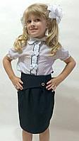 Блузка детская в школу К-20