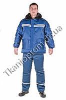 Куртка утепленная модель «Север» с меховым воротником