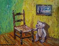 Картина «Мишка Ван Гога» купить необычный подарок
