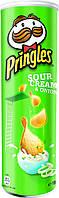 Чіпси Pringles сметана і зелень 190г