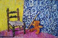 Картина маслом на холсте «Машка Ван Гога» купить подарок в Киеве