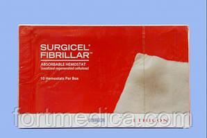 Вата гемостатическая Surgicel Fibrillar (все размеры)